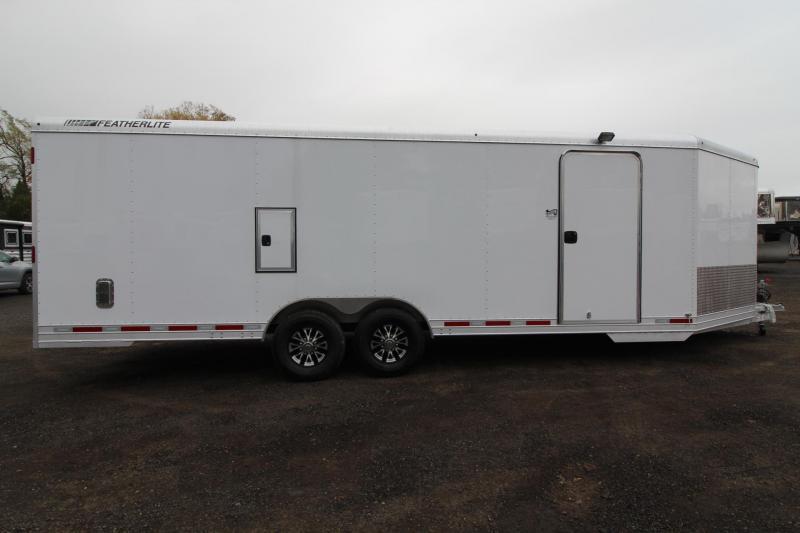 "2018 Featherlite 4926 - 24' Enclosed Car Trailer 8'6"" Wide 5200 axles"