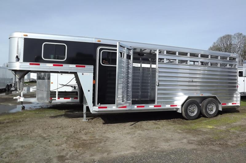"""2017 Exiss STC 7020 - Stock Combo Trailer - 7'2"""" tall"""