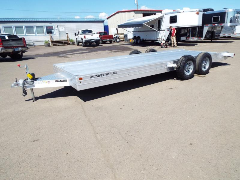 Featherlite 3110 20 Car Hauler Tandem Axle Removable Fenders