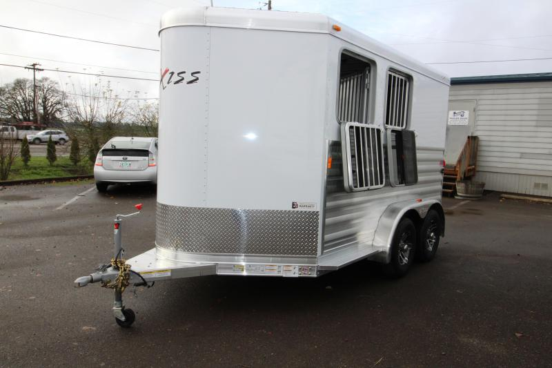 2018 Exiss Express Xt 2 Horse Trailer All Aluminum Upgraded Easy