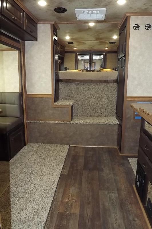 2017 trails west sierra 13x13 alumin 8wide side tack skin 8wide side tack slide out hayrack 4 horse living quarters trailer easy care flooring sciox Gallery