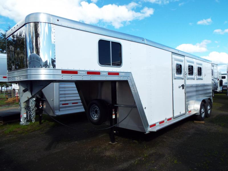 2017 Featherlite 8542 Legend Series - All Aluminum - 3 Horse 7\u0027 Tall and Wide & All Inventory | Horse Trailers For Sale | Double J Trailers in ... Pezcame.Com