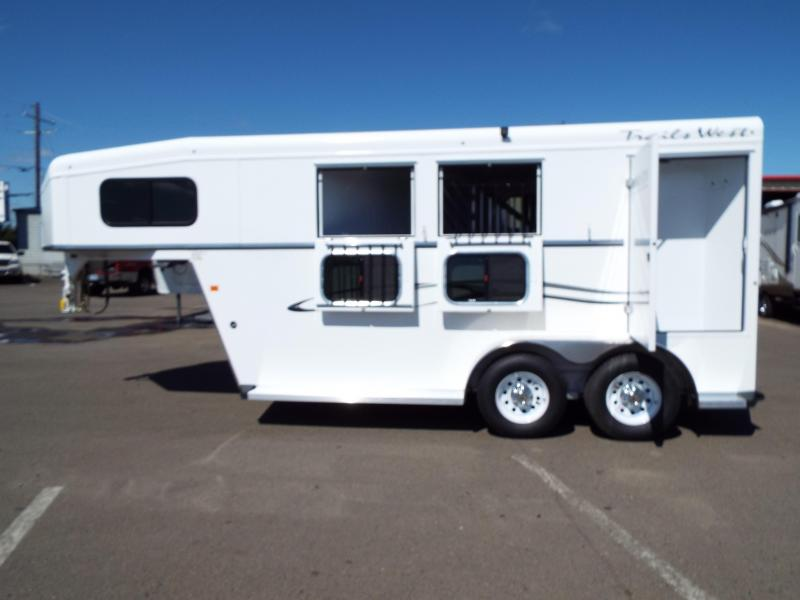 2017 Trails West Classic SpeciALite -  2 Horse Trailer w/ Convenience Pkg - Rear Broom Closet