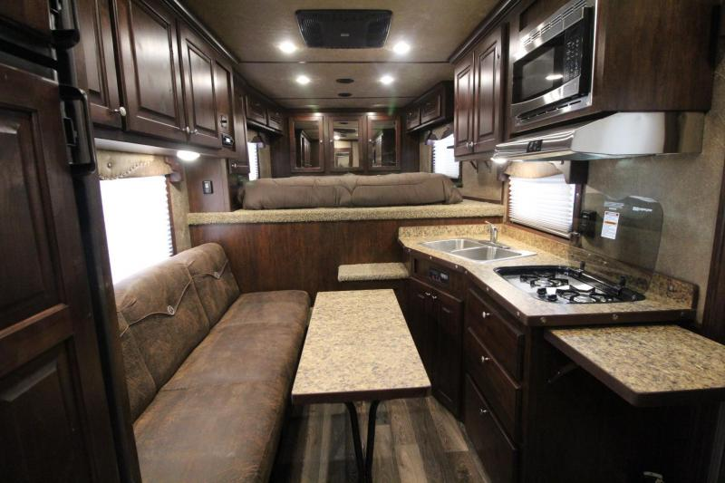 "2017 Exiss Endeavor 8310 w/ upgraded interior 8'W x 7'8"" T"