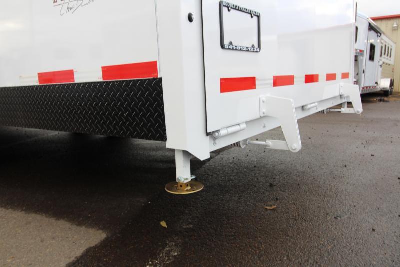 2018 Trails West RPM Burandt Edition Snow Check Snowmobile Trailer - 28 ft Gooseneck