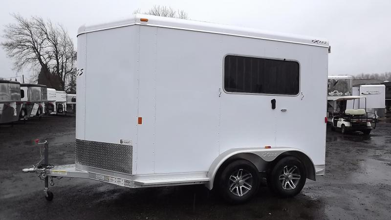 "2017 Exiss Express ST 2 Horse Straight Load Aluminum Trailer 7'6"" Tall - Reduced Price $1500"
