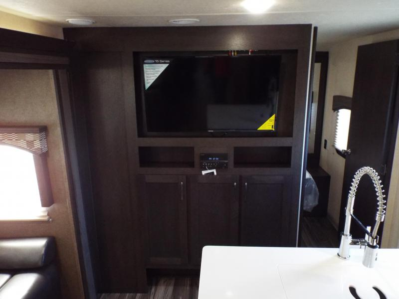 2018 Evo 3250 Travel Trailer - Outside Kitchen - Dual Slide Outs