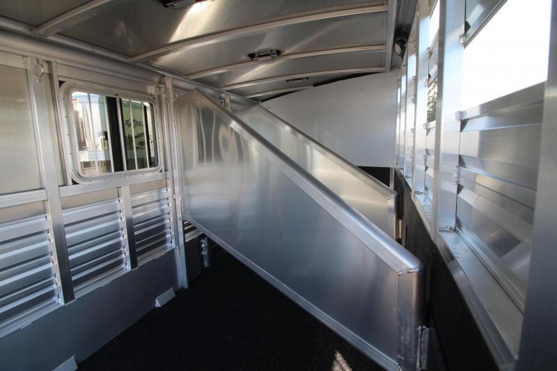 2018 Exiss CXF 3 Horse Trailer Extruded Alum Sides Easy Care Flooring