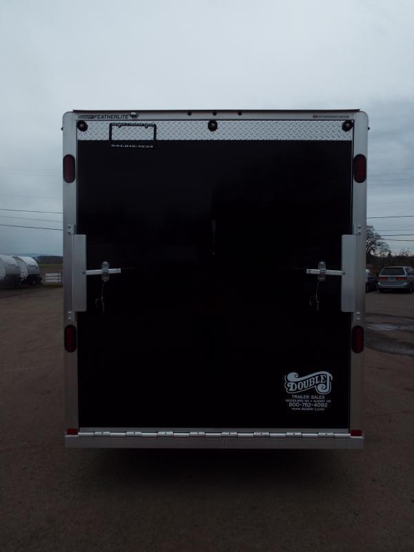 Details & 2017 Featherlite 1610 Enclosed Cargo Trailer - All Aluminum - 7 ... pezcame.com