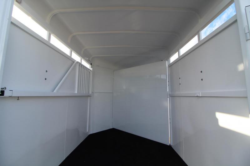 2018 Fabform LBT W/ Spare Tire 2 Horse Trailer - Galvanized Steel