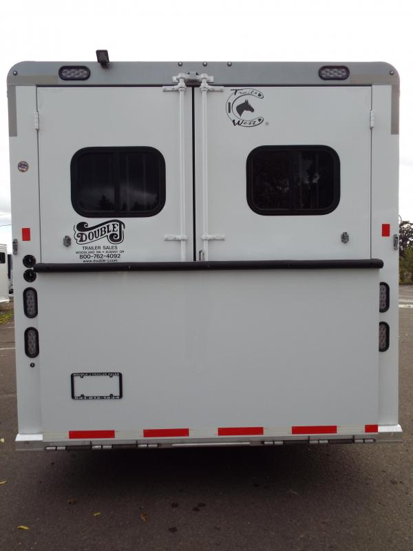 2016 Trails West Sierra 3 Horse -  11 x 15 AMT Horse Trailer - Rear Ramp - Mangers- Full Width Angled Mid Tack Room - Like New Condition!!!