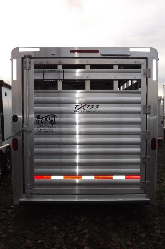 2017 Exiss Express CXF 4 Horse GN Slant Load Trailer 7'2 T Extruded Aluminum JUST REDUCED $450
