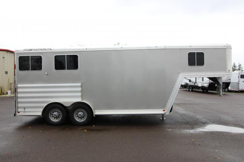 "2015 Featherlite 8541 2 Horse - ""Big Horse Trailer"" -  50"" Stalls - Rear Ramp"