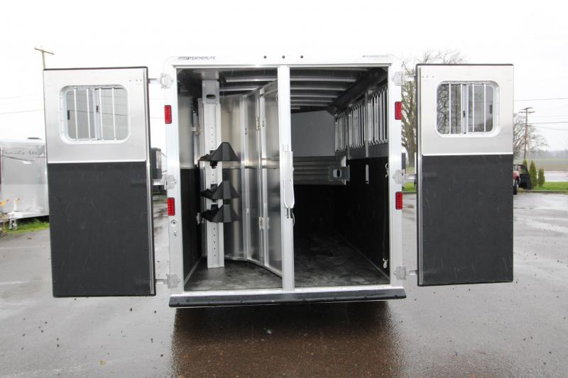 2018 Featherlite 8542 Legend Series - All Aluminum - 3 Horse 7' Tall and Wide - w/ Folding Rear Tack