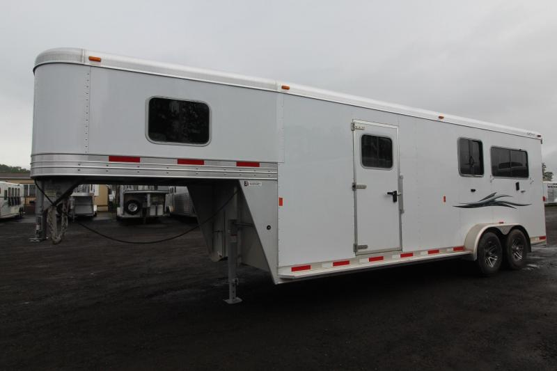 Wonderful Horse Trailer  COMBO  Gooseneck Only  Aluminum  English39s Trailers