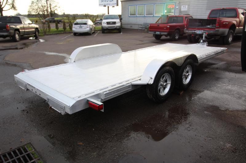 2018 Featherlite 3182 - 18 ft - All Aluminum - Car / Racing Trailer - With Ramps