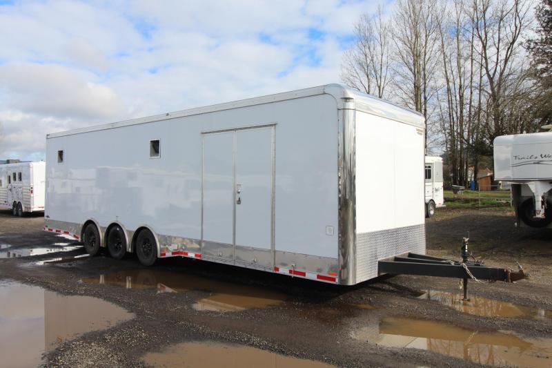 2017 Continental Cargo 30' Car Trailer - Triple Axle - All Alluminum