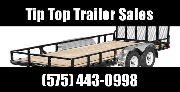 2019 PJ Trailers 16' Tandem Axle Channel Utility (UL) Utility Trailer