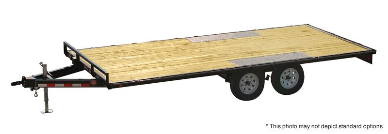 "2019 PJ Trailers 18' Med. Duty Deckover 6"" Channel Trailer"