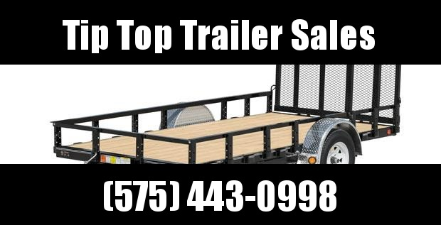 2020 PJ Trailers 10' 72 in. Single Axle Channel Utility (U2) Utility Trailer