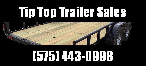2019 Lamar Trailers 16' Tandem Axle Utility (UT) 3K - 7K Utility Trailer