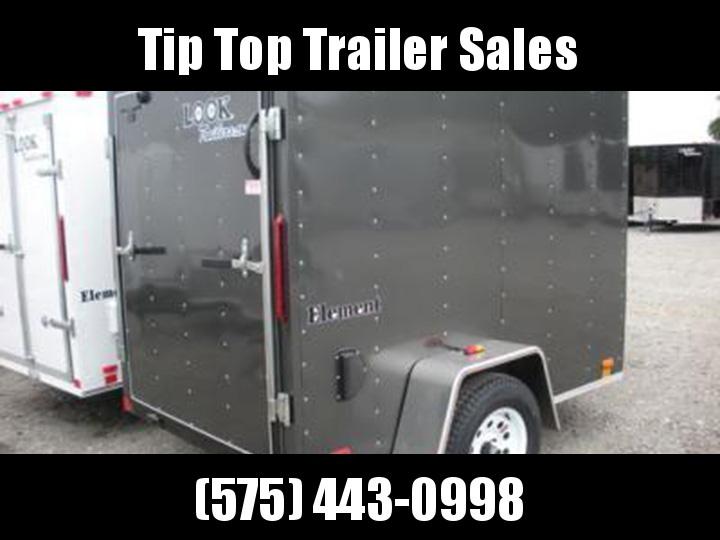 2020 Look Trailers Element 6'X12' Enclosed Cargo Trailer