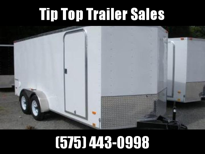 2020 Look Trailers EWLC7X16TE2 Flat Top Enclosed Cargo Trailer
