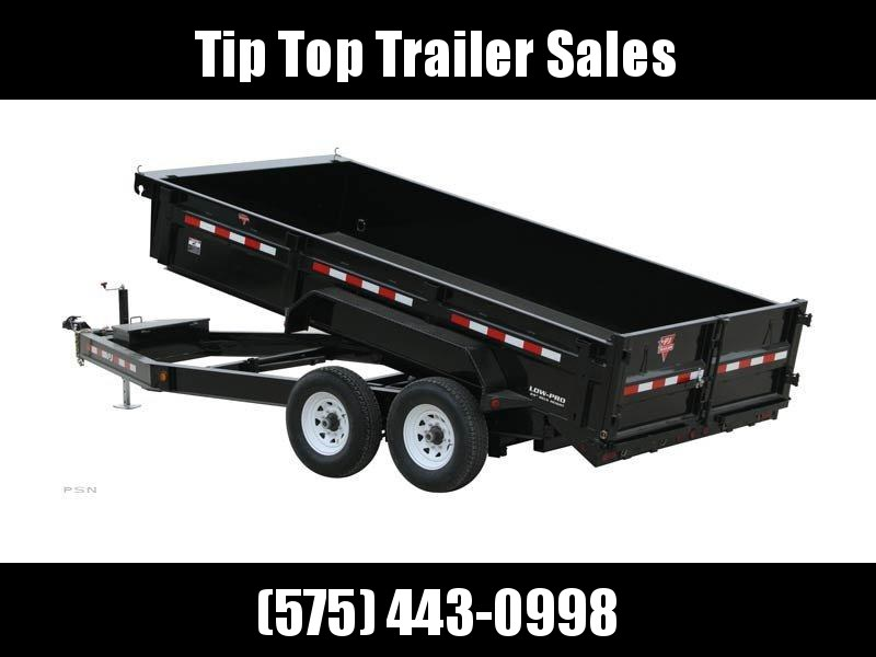 2020 PJ Trailers 16' 83 in. Low Pro Dump (DL) Dump Trailer