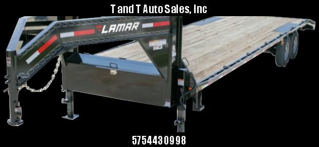 2017 Lamar Trailers F8242 Equipment Trailer