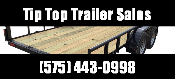 2019 Lamar Trailers 12' Tandem Axle Utility (UT) 3K - 7K Utility Trailer