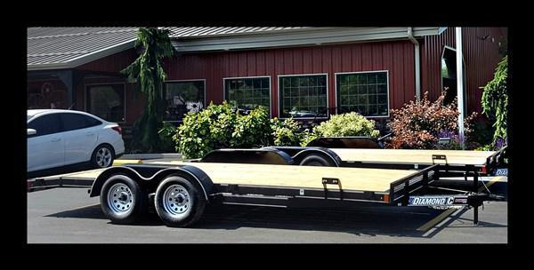 "2018 Diamond C ""RC83x18"" 18' Car Hauler"