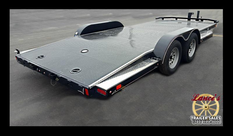 2017 Diamond C 83X18 Deluxe Steel Floor Car Hauler