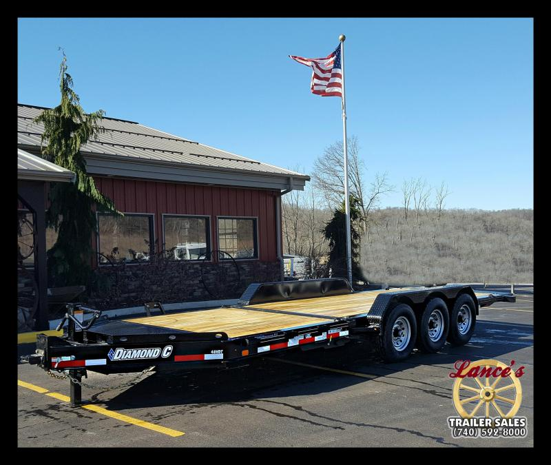 2017 Diamond C 48HDT Tri-Axle 22' Low Profile Equipment Trailer