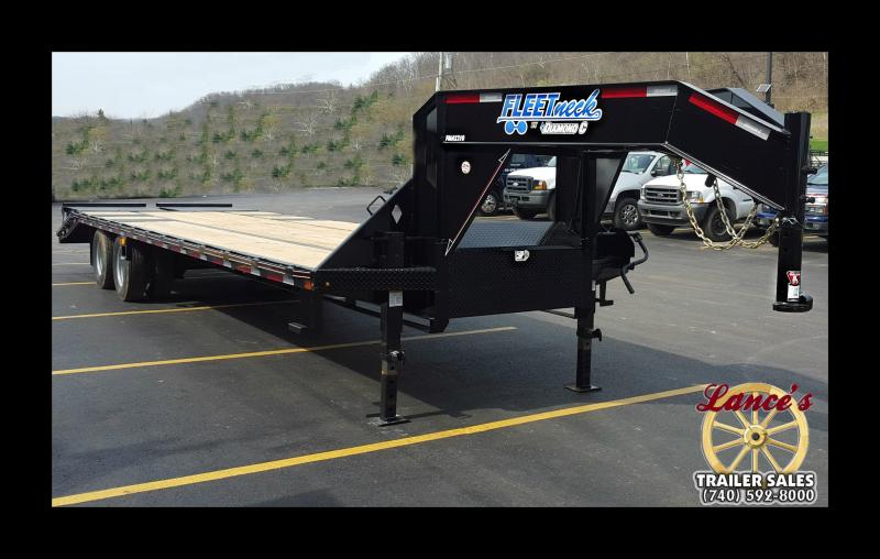 2017 Diamond C FMAX210 25' Equipment Trailer