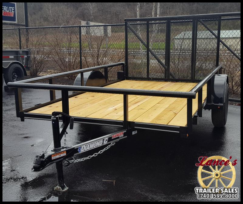 "2017 Diamond C 77x10 ""RSA"" Utility Trailer"