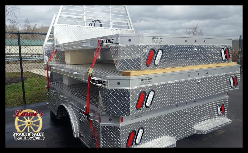 """2017 Alum-Line 94""""x111"""" (Dually) Truck Bed"""