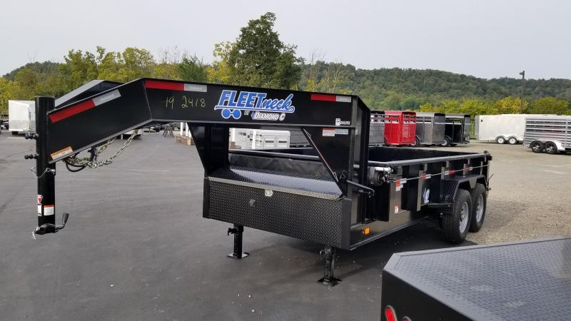 2018 Diamond C Trailers 24LPD 14' Dump Trailer