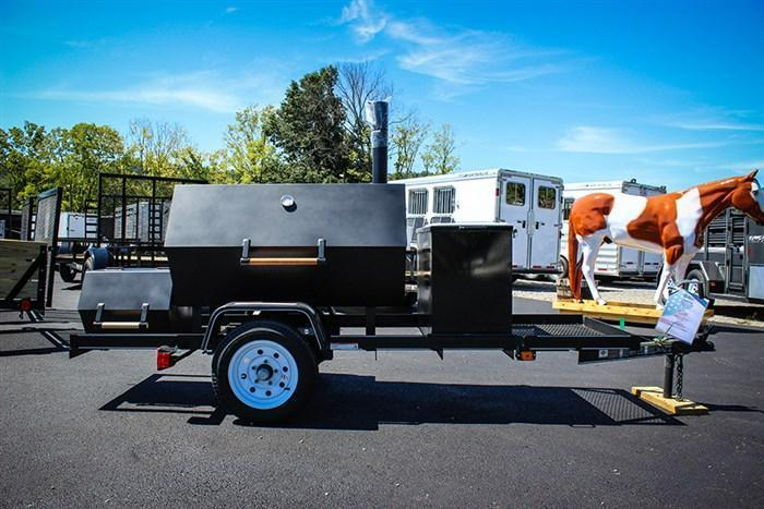 2017 Carry-On Smoker Grill Trailer