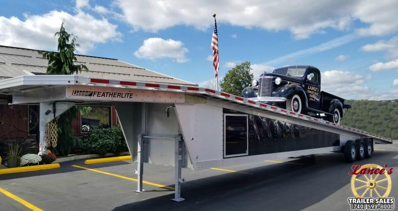 2018 Featherlite 8'6X53' Car / Racing Trailer