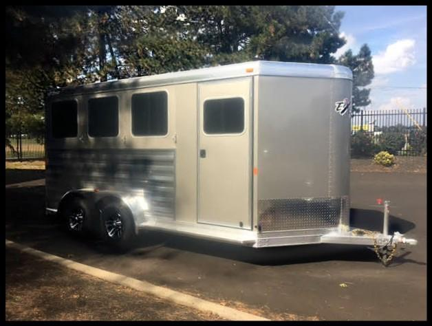 2018 Exiss Express 3-Horse Slant Load  BP XT Trailer