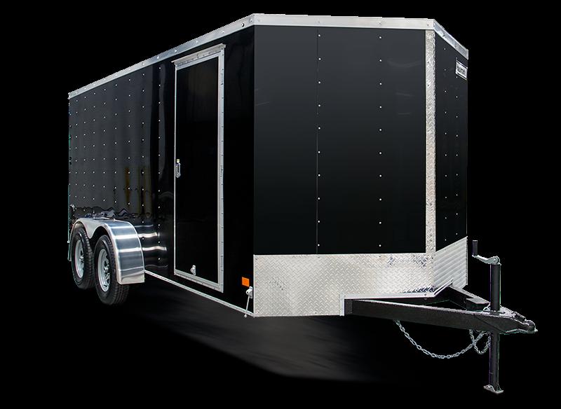 """2018 Haulmark 7'x14' Tall Tallboy """"V3000 Series"""" Cargo Trailer   w/ Ramp"""