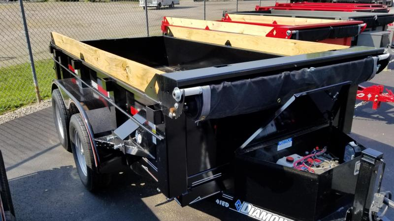 "2018 Diamond C 60""x10' ""Deluxe"" Dump Trailer"