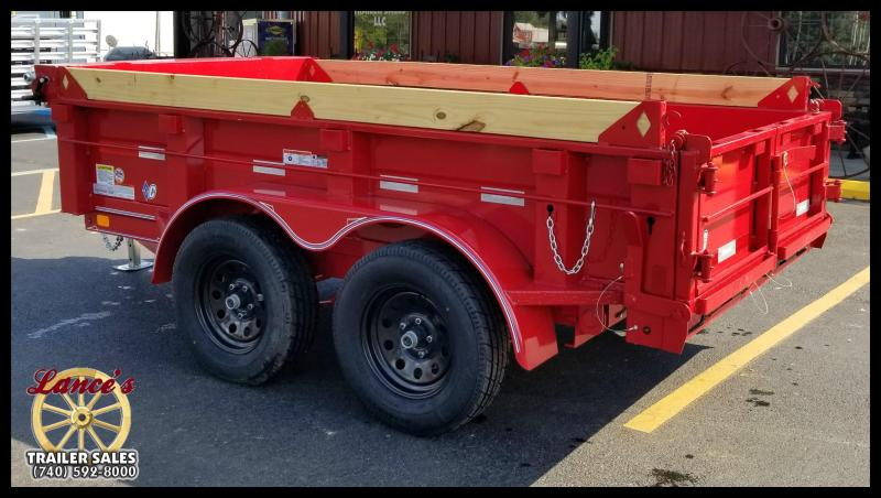 2017 Diamond C 41EDL10X60 Dump Trailer w/Board Brackets