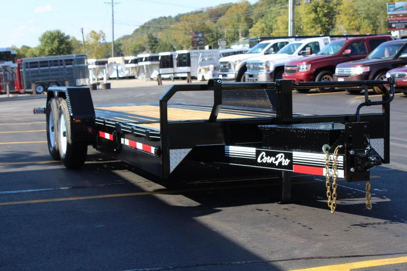 2018 Corn Pro  21' Tilt Equipment Trailer