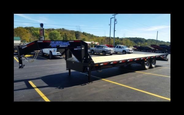 2017 Diamond C FMAX207 25' Equipment Trailer