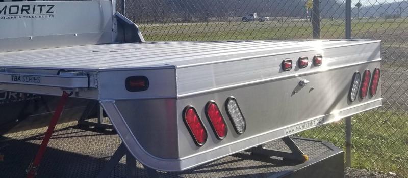 2017 Moritz 7'Wx8'6L (SRW) Aluminum Truck Bed