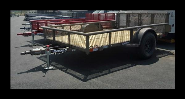 "2017 Diamond C 77x10  ""2PSA"" Utility Trailer"