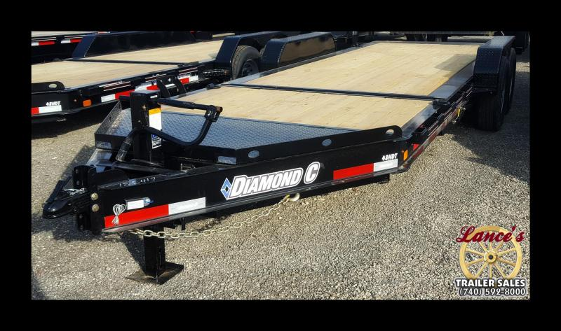 2017 Diamond C 48HDT 20' Equipment Trailer