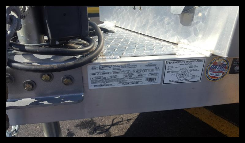 """2017 Haulmark """"HACO7920PT"""" 20' """"Power Tilt"""" Car Hauler"""