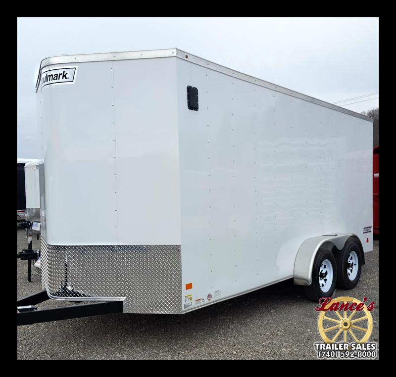 2017 Haulmark 7X16 Tall Tallboy Enclosed Cargo Trailer